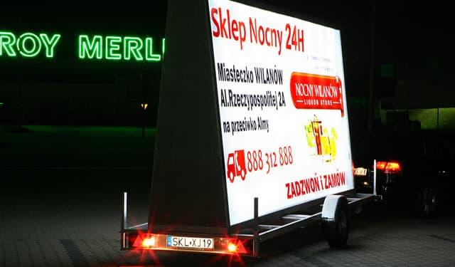 Przyczepa BackLight - Przyczepy.KMPolska.pl