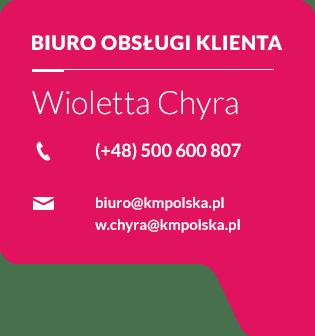 Wioletta Chyra - Kontakt